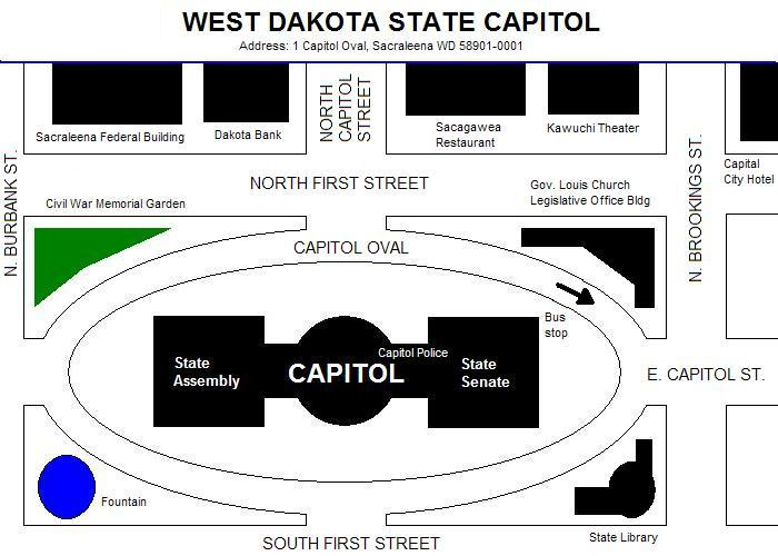 Map of Capitol grounds